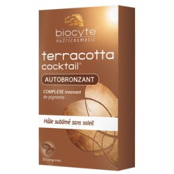 TERRACOTTA COCKTAIL AUTOBRONZANT, 30 tablet